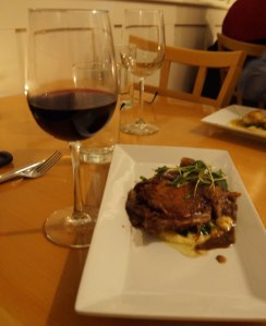 Duck Confit/Ragu with Smoked Mushrooms