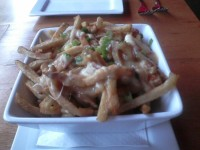 Blaze poutine with duck gravy