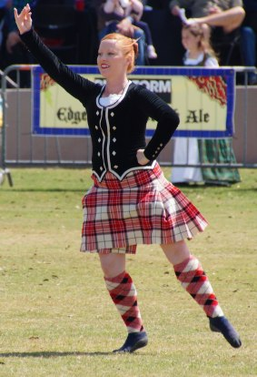 Scottish-Dancer