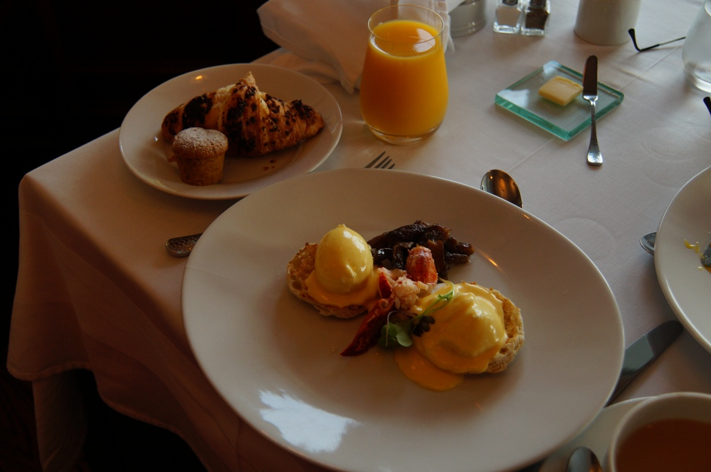 Camden Harbor Inn Breakfast