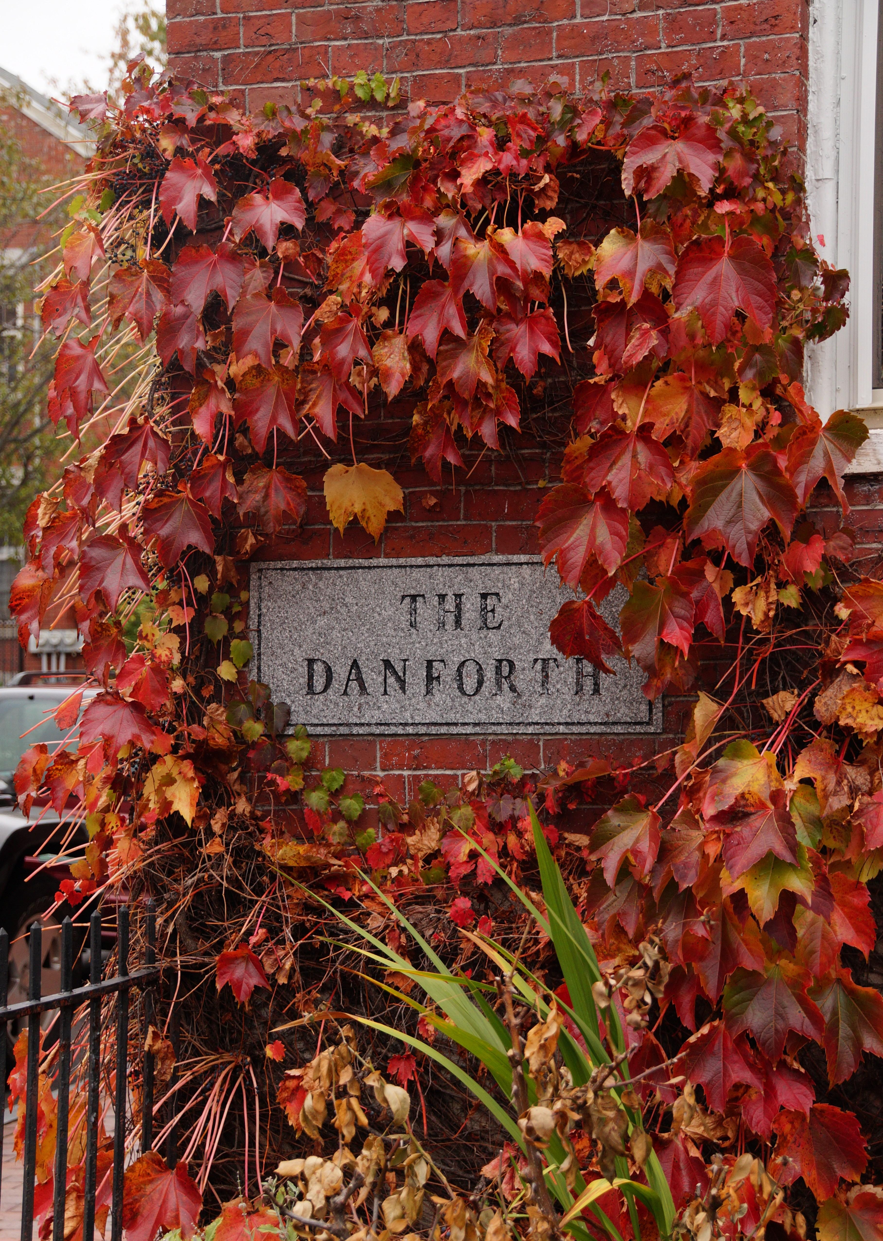 Danforth plaque